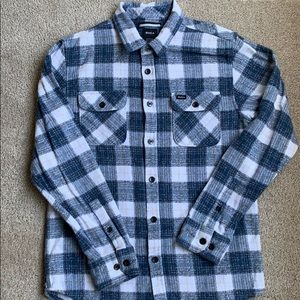 RVCA Men's Blue Flannel from PacSun